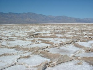 Badwater i Death Valley